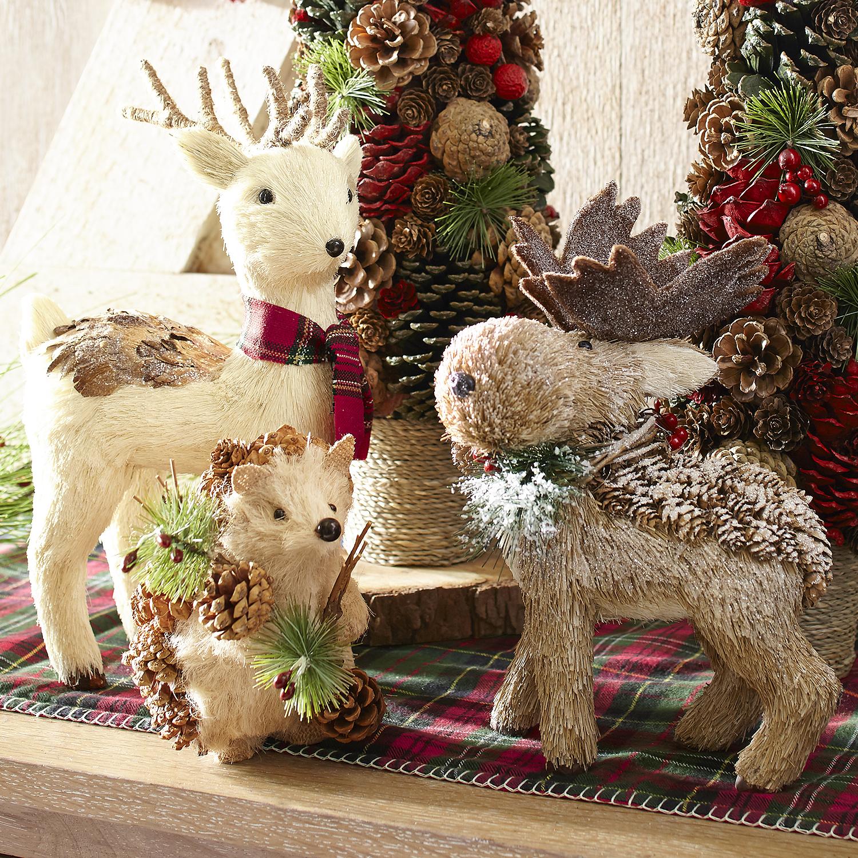 Natural Holiday Moose