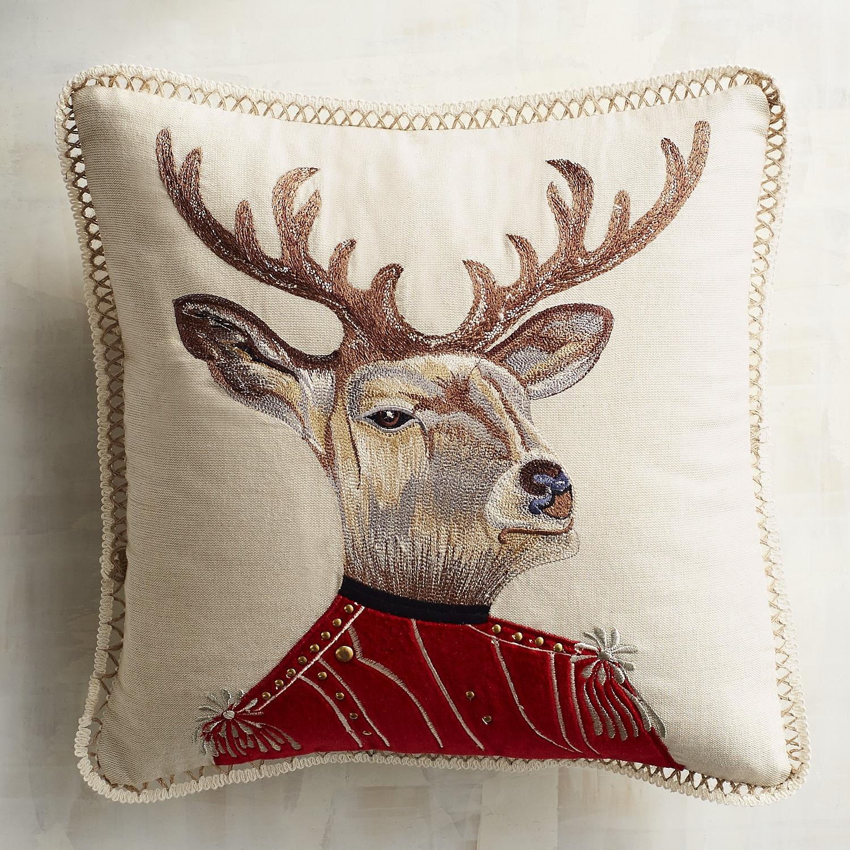 Explorer's Society Dapper Deer Mini Pillow
