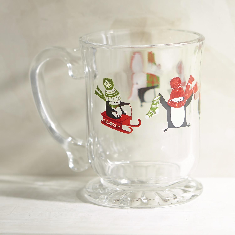 Penguin Glass Mug