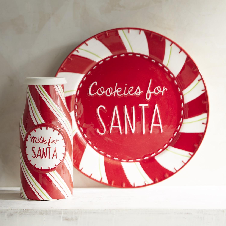 Cookies for Santa Plate & Cup Set