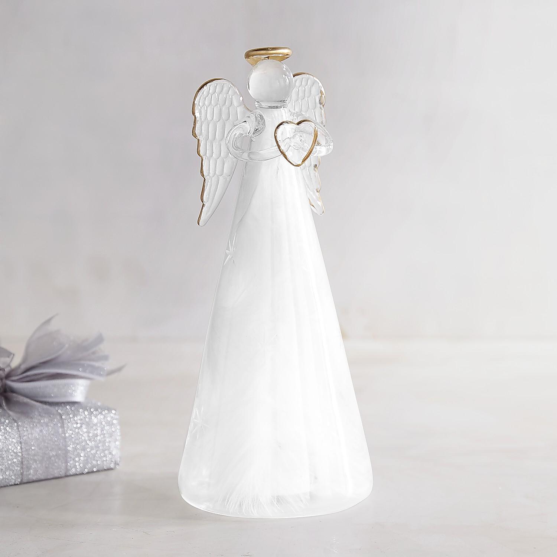 "LED 8"" Feather Angel"