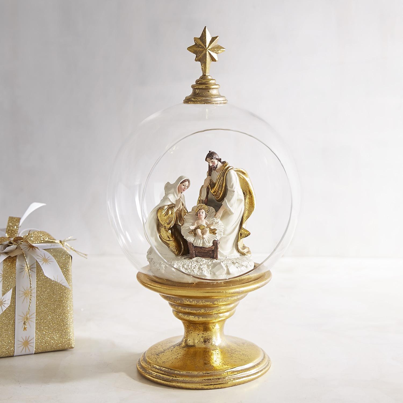 Holy Family in Globe