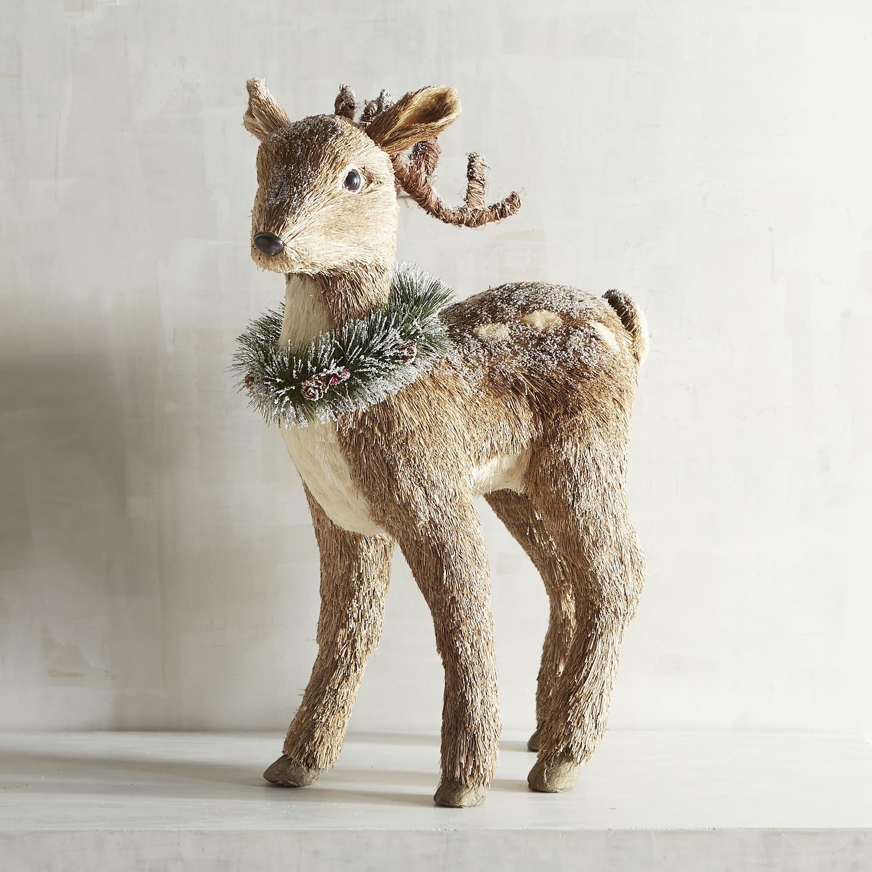 Natural Standing Extra Large Deer