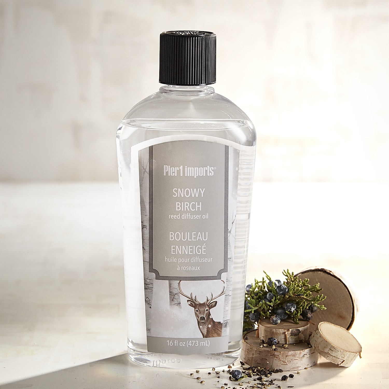 Snowy Birch Reed Diffuser Refill Oil
