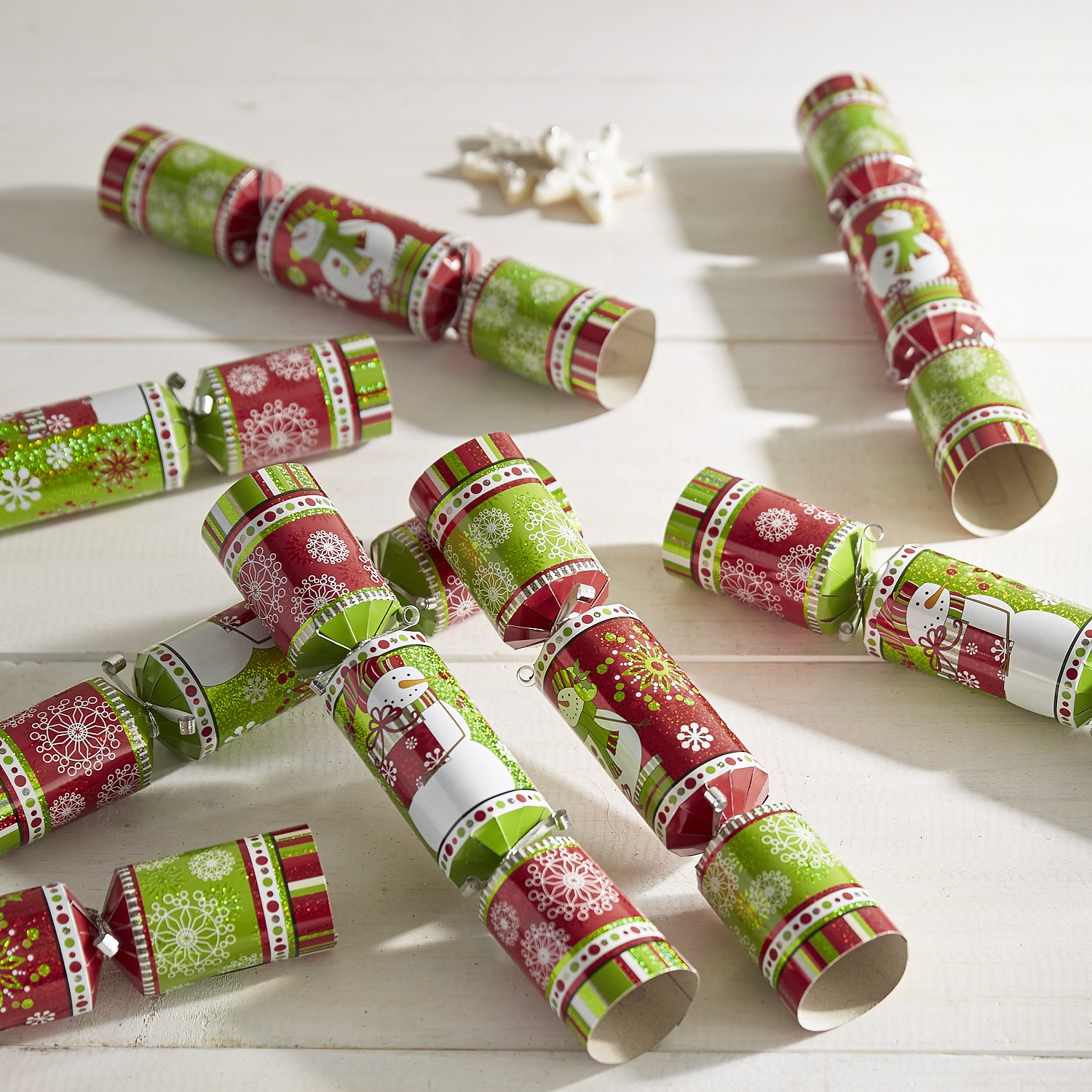 Snowman Party Crackers