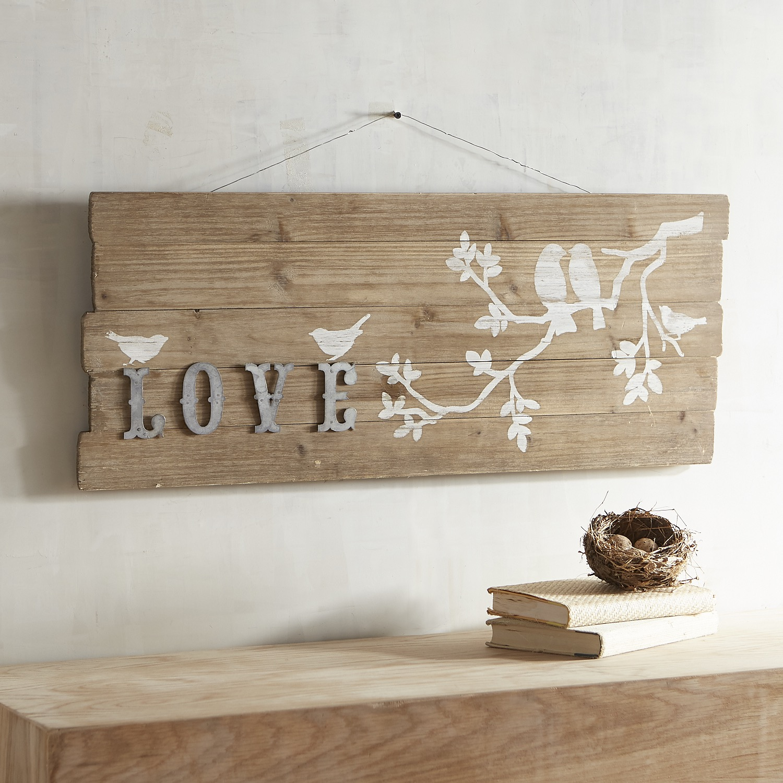 Love Birds Wall Decor