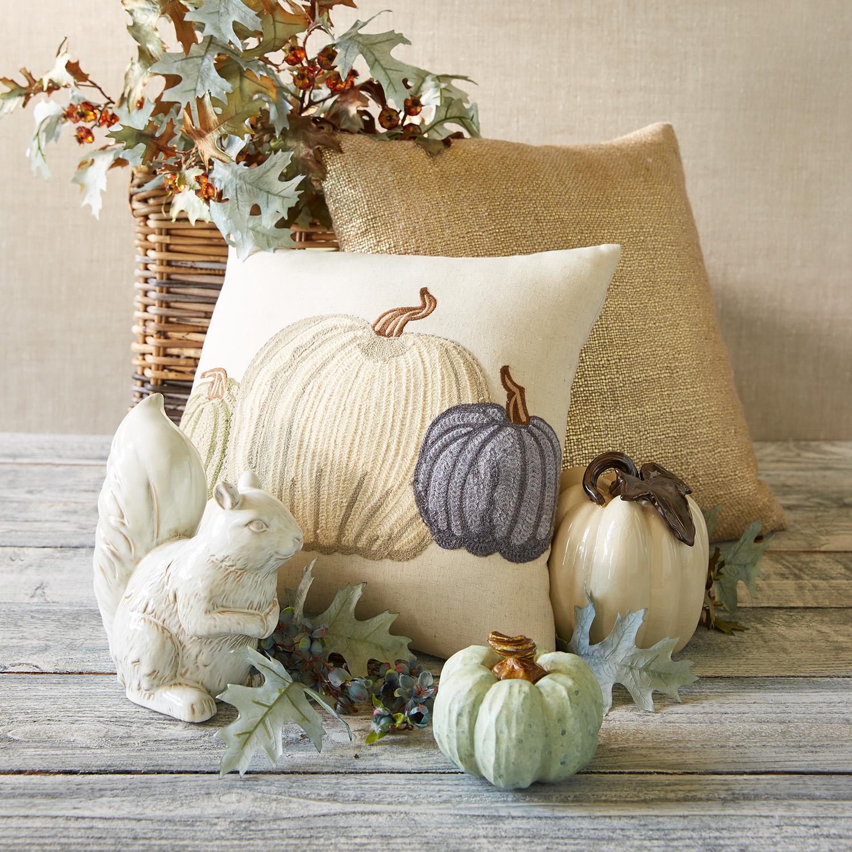 Metallic Gold Basketweave Pillow
