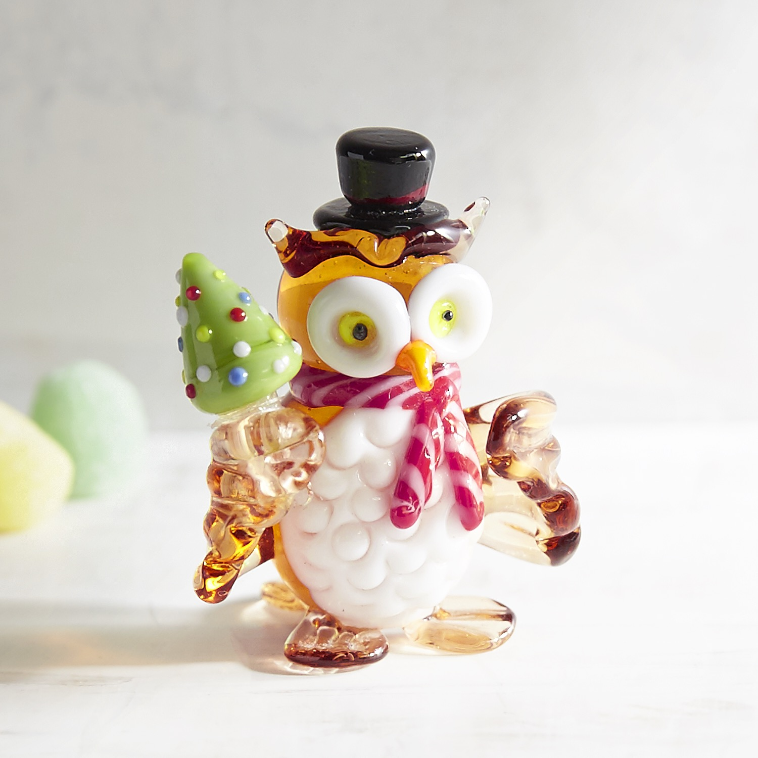 Glass Owl Collectible