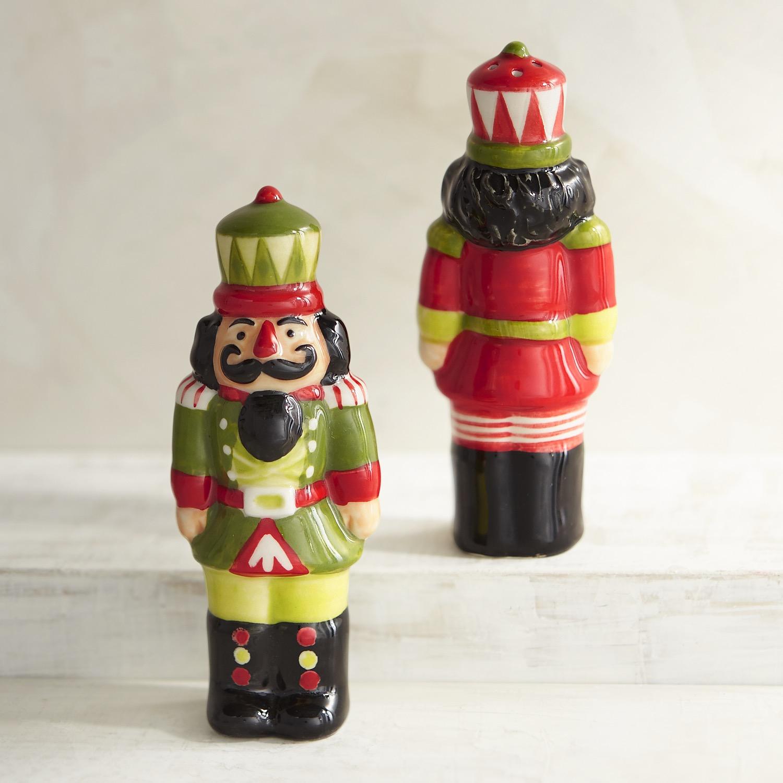 Nutcracker Salt & Pepper Shakers