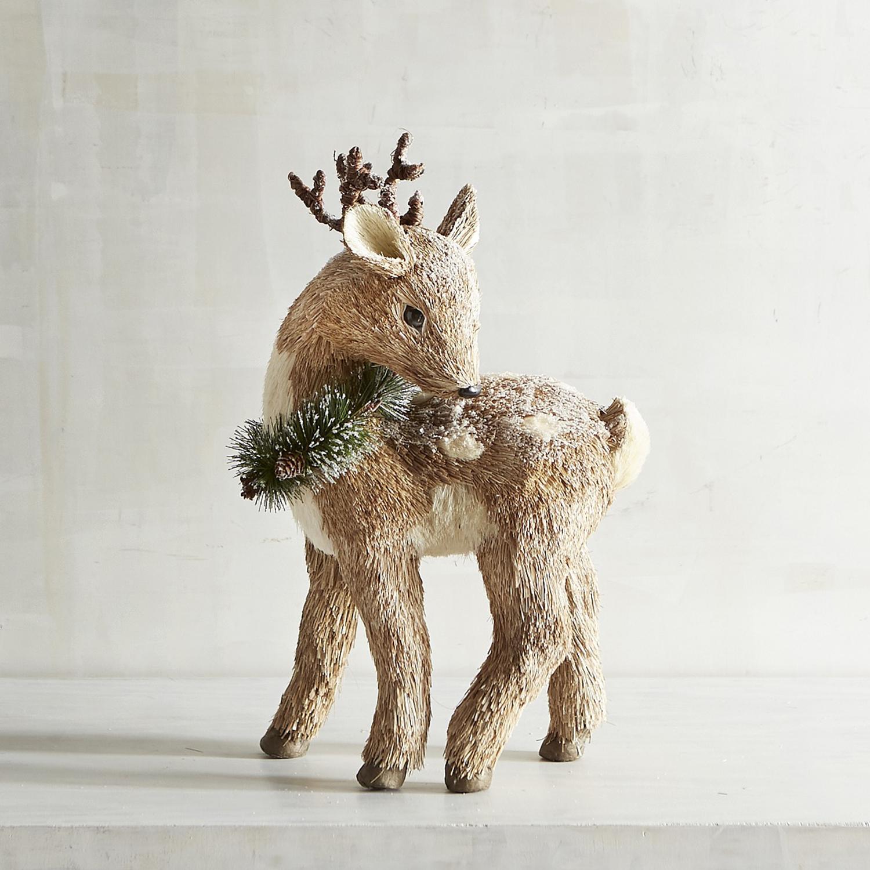 Natural Standing Small Deer