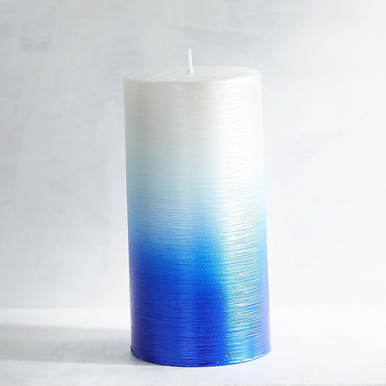 Hanukkah 3x6 Unscented Pillar Candle