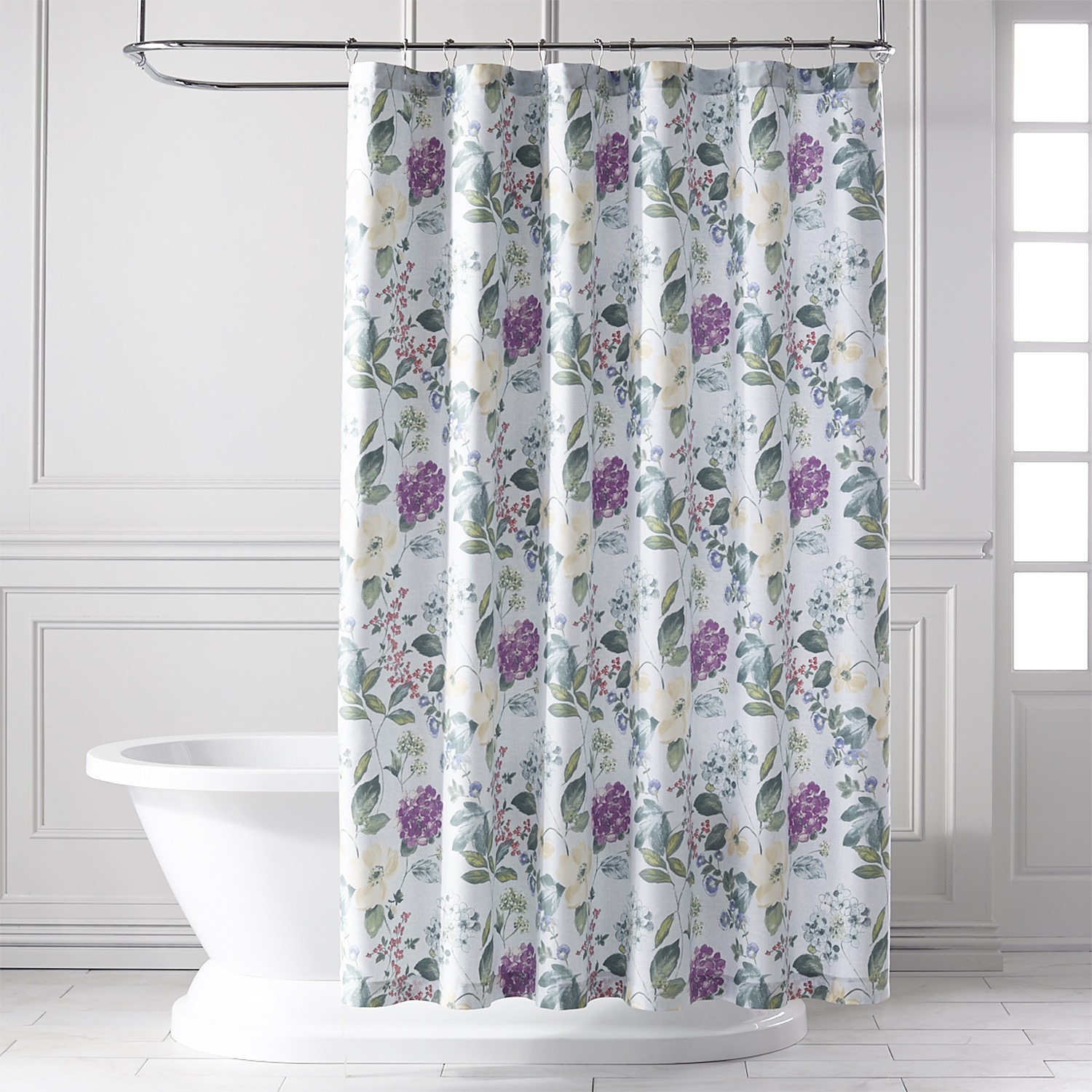 Tiffany Floral Shower Curtain