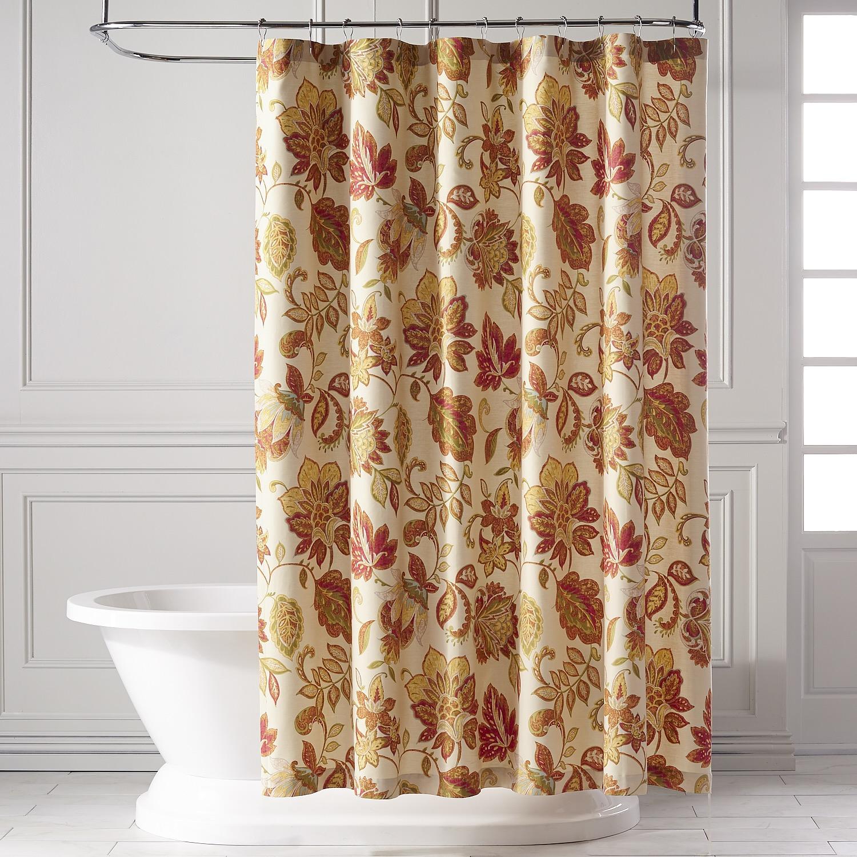 Glencove Spice Shower Curtain