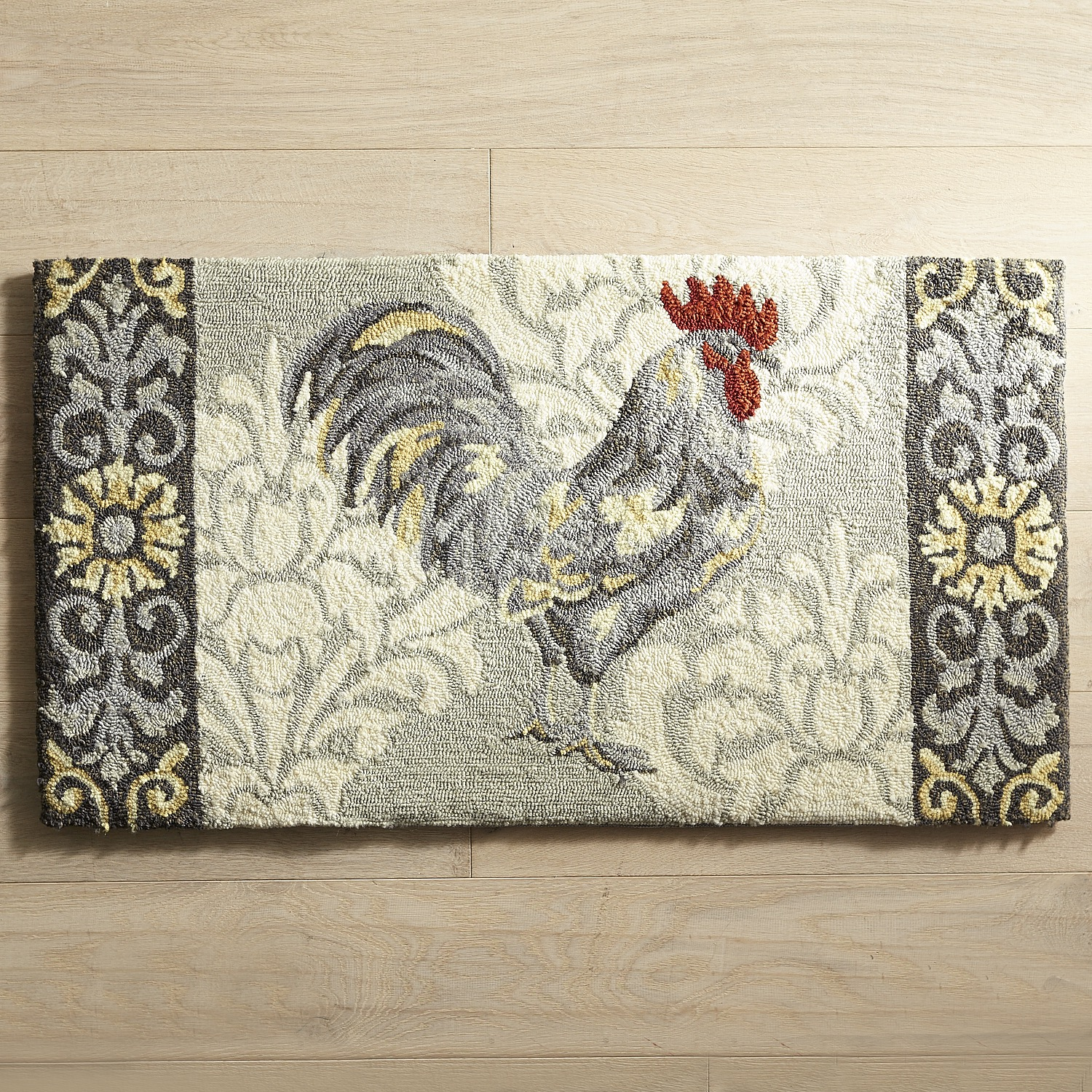 Cloud Step® Rooster Memory Foam Rug