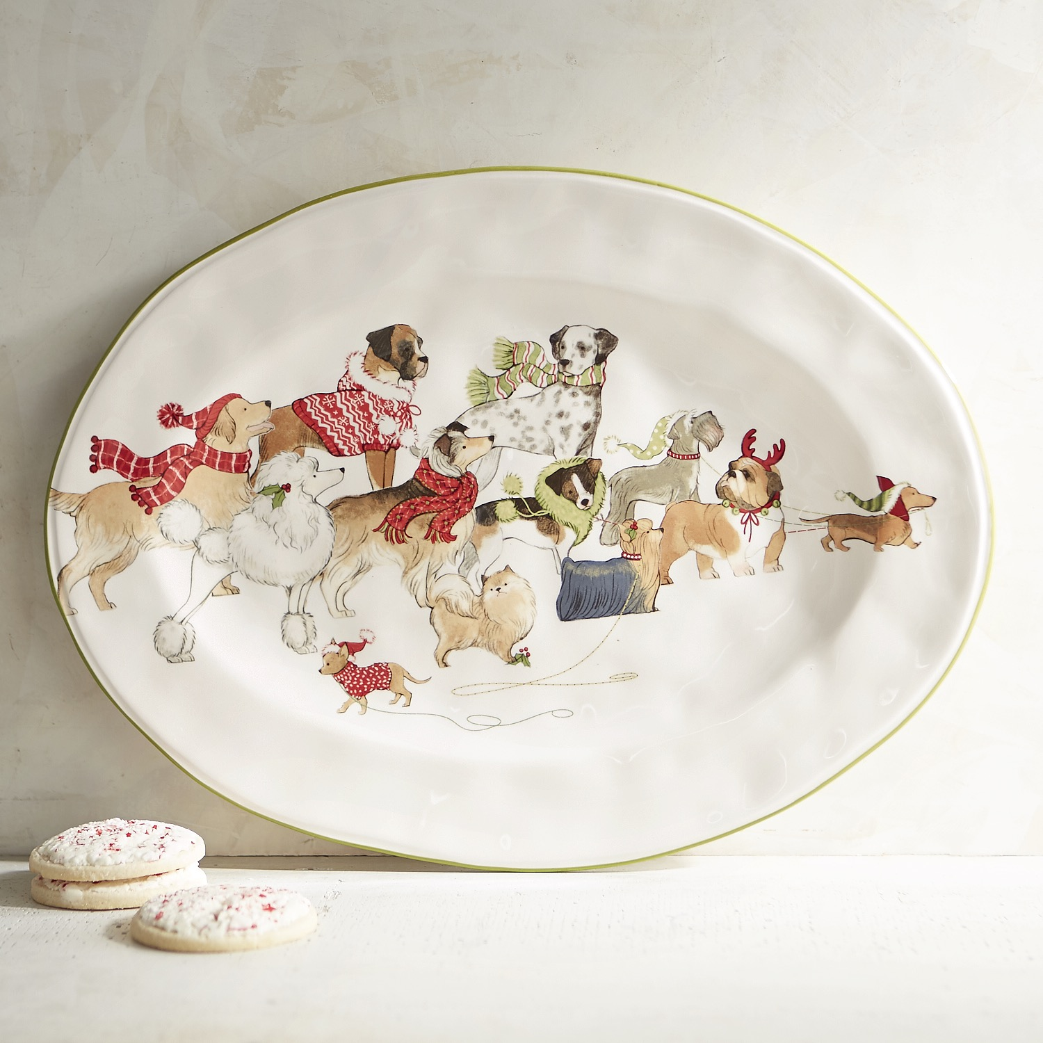 Park Avenue Puppies™ Oval Serving Platter