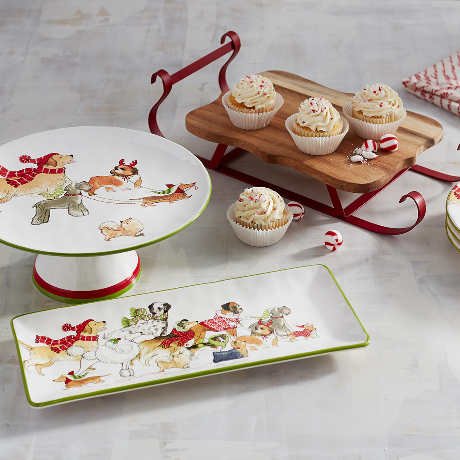 Park Avenue Puppies™ Cake Stand