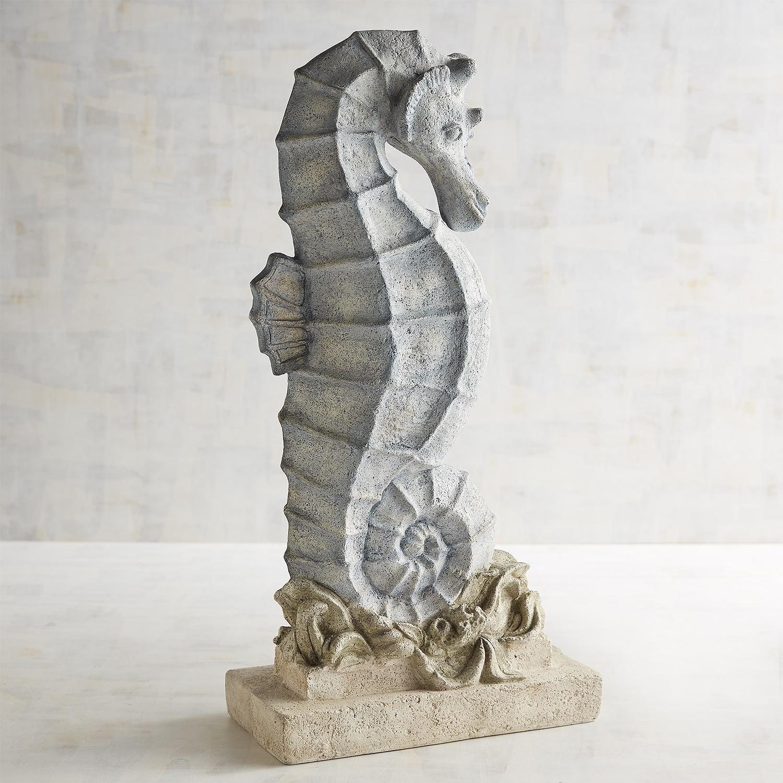 Lava Stone Seahorse