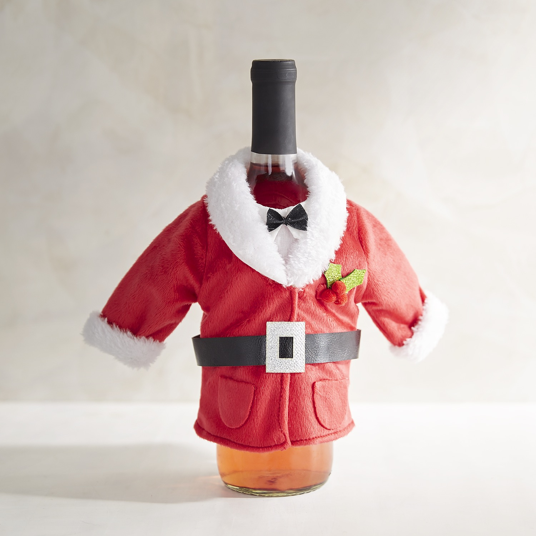 Santa Claus Bottle Decor