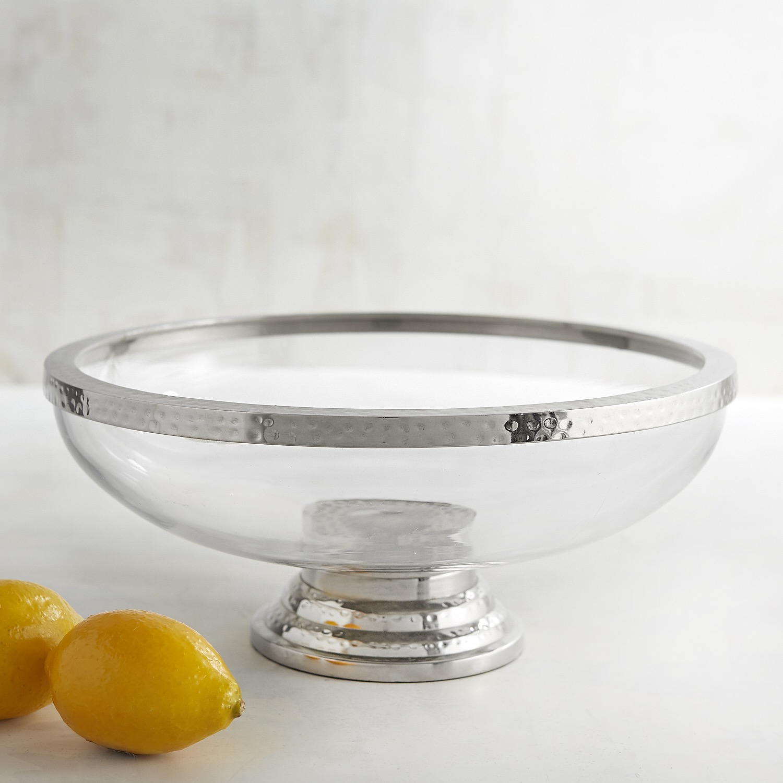 Regency Glass Serving Bowl