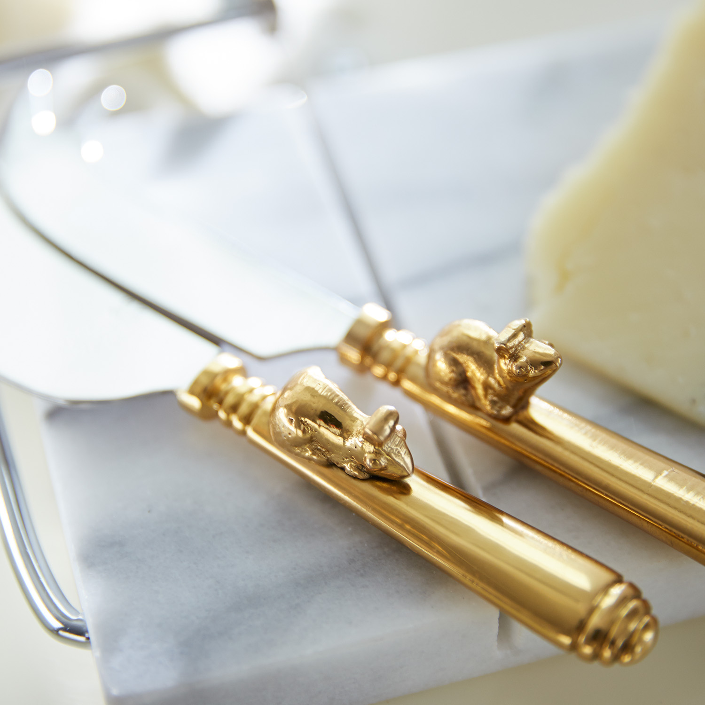 Mice Cheese Knife Set