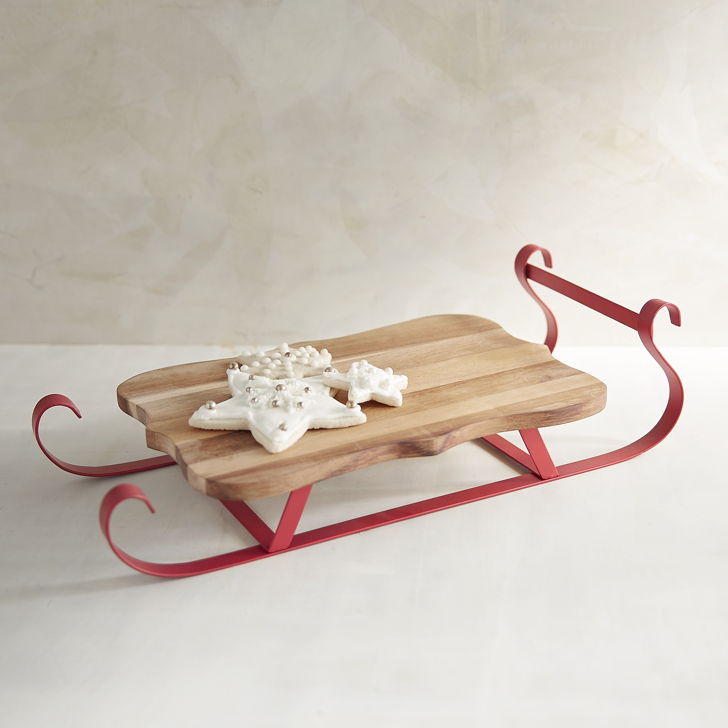 Sled Serving Board