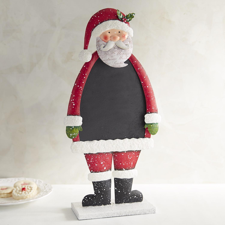 Santa Bobblehead Chalk Menu Board