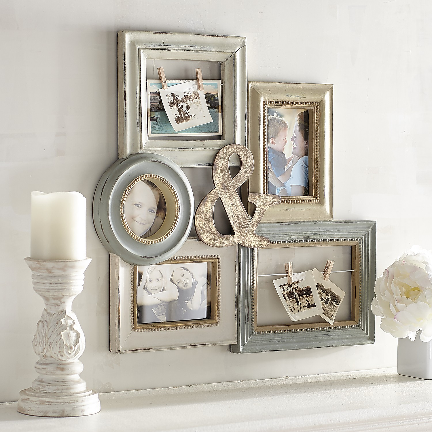 Ampersand Collage Wall Photo Frame