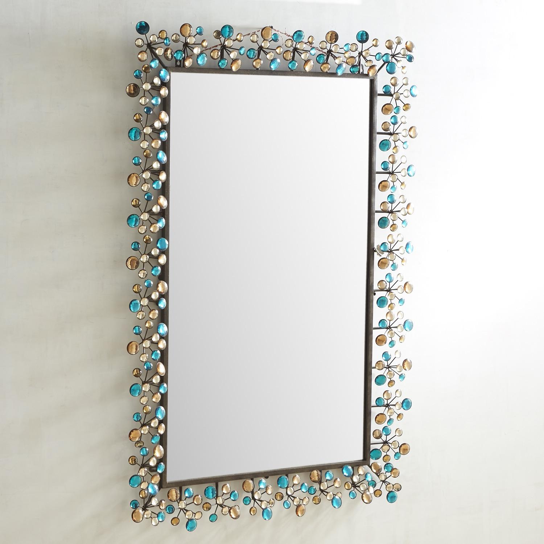 Peacock Dazzle 32x48 Mirror
