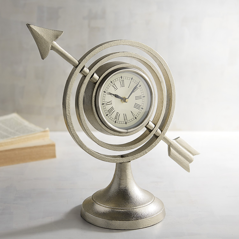 Armillary Desk Clock