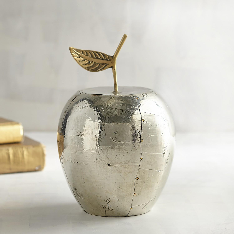 Silver Metallic Apple