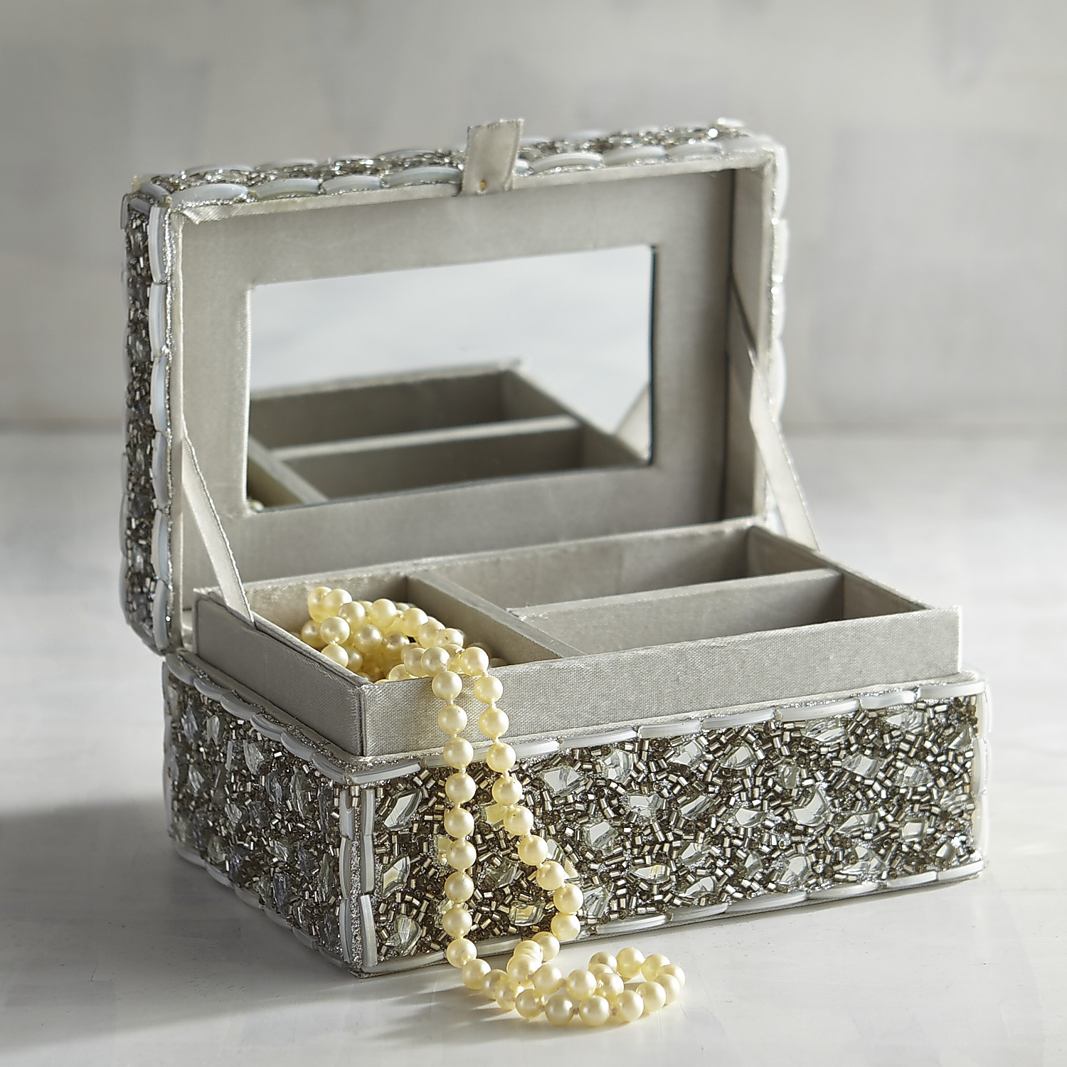 variation thumbnail of Bejeweled Mini Jewelry Box