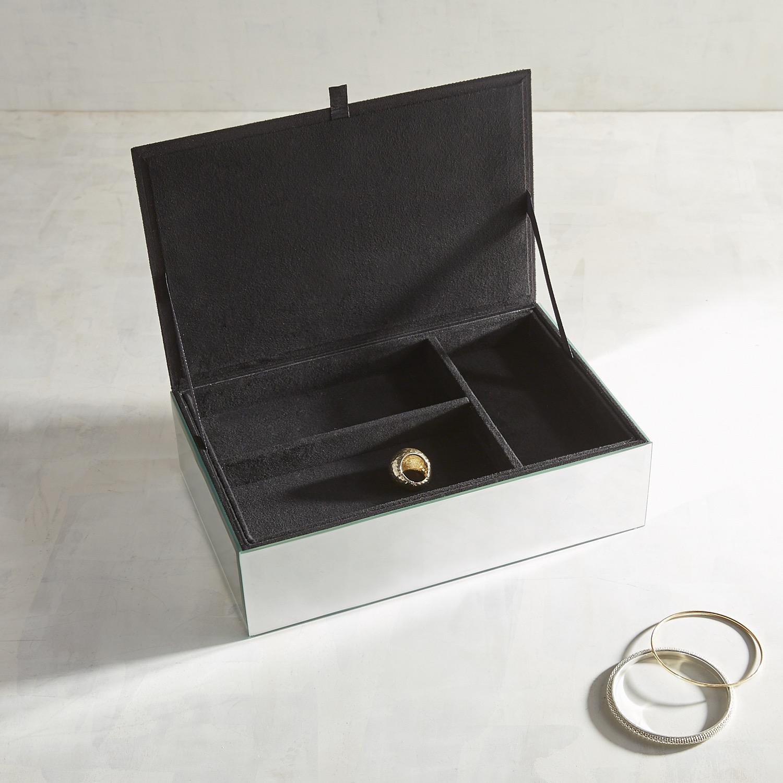 Beaded Brooch Jewelry Box