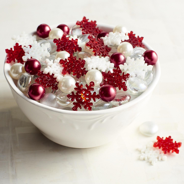 Snowflake & Pearl Gem Mix