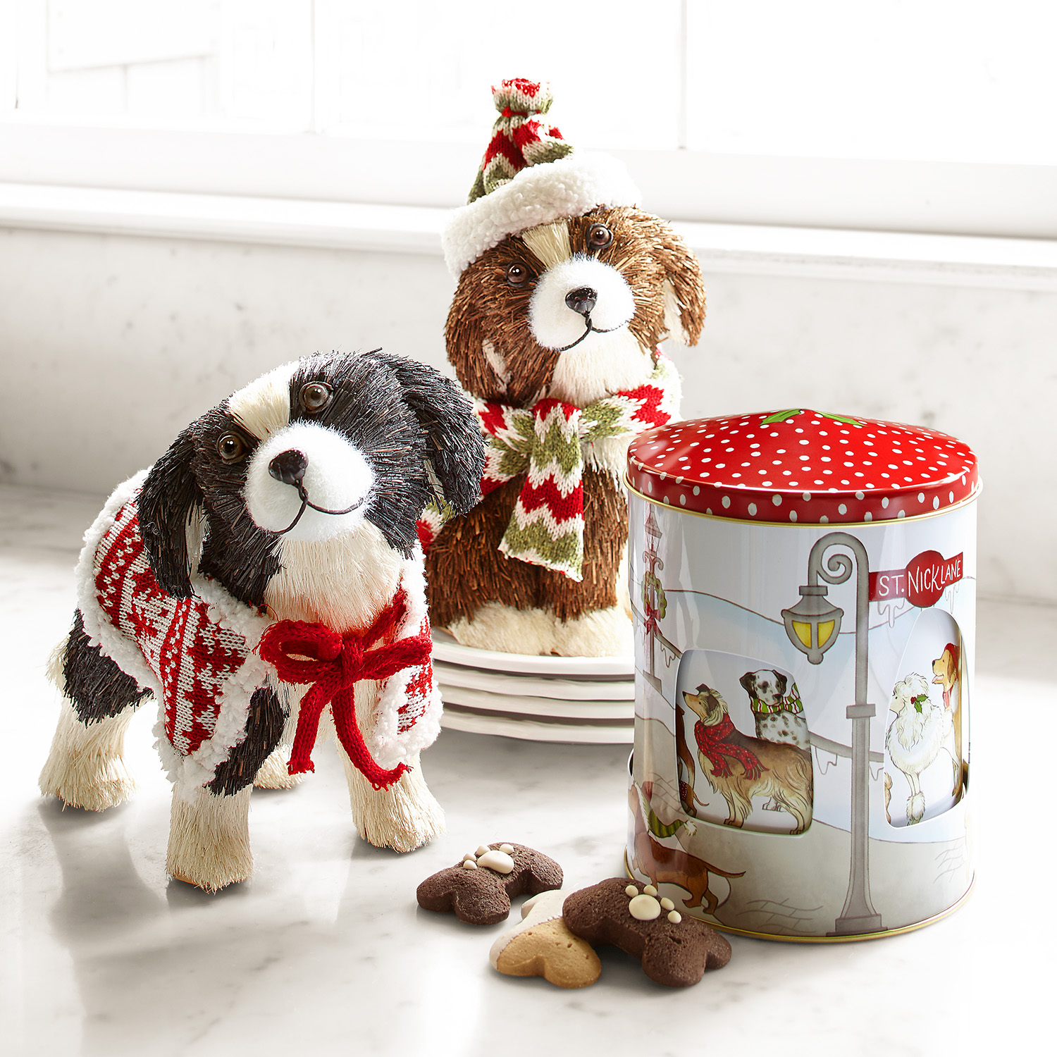 Park Avenue Puppies™ Musical Cookie Tin