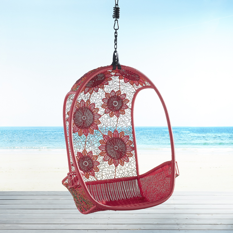 Red Flower Swingasan® Hanging Chair