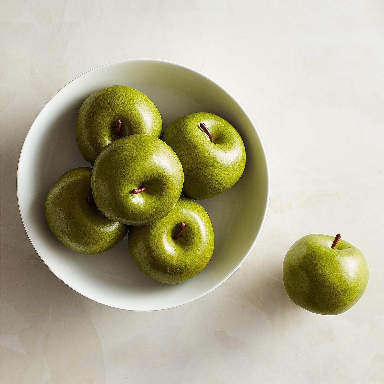 Artificial Green Apples