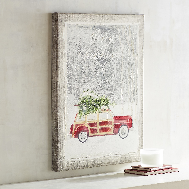 Merry Christmas Car Art