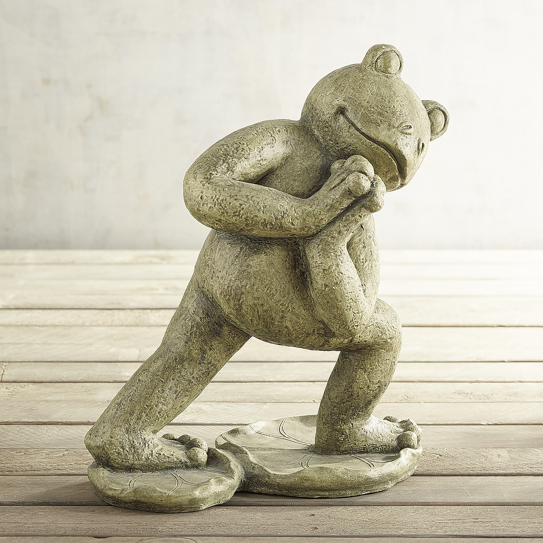 Stretching Yoga Frog