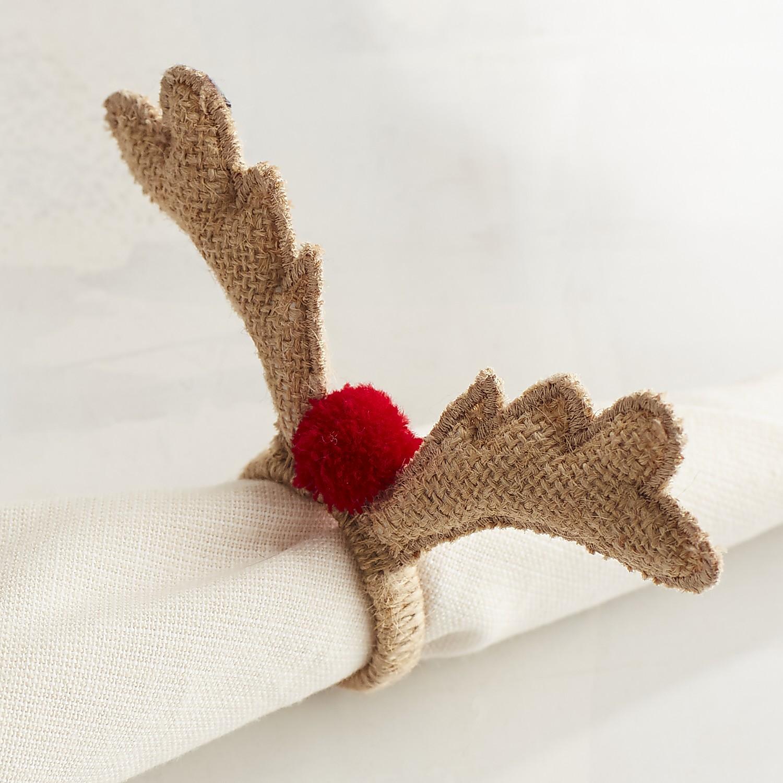 Deer Antlers Napkin Ring