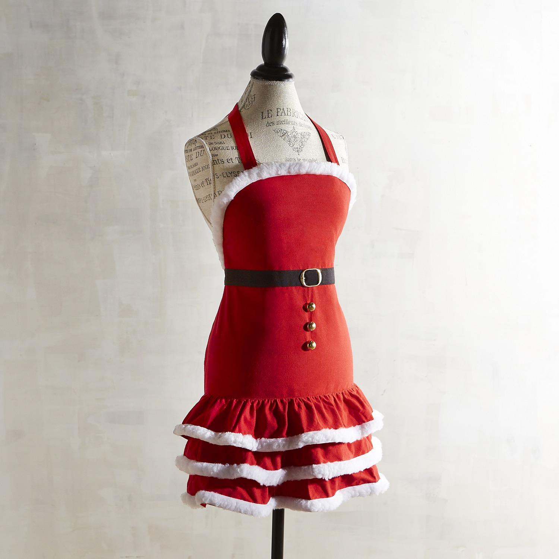 Mrs. Claus Christmas Apron