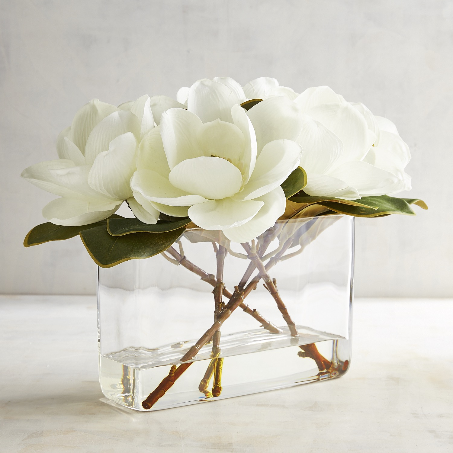 Faux Magnolia Arrangement