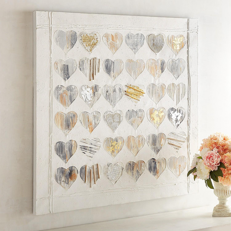 Metallic Hearts Art