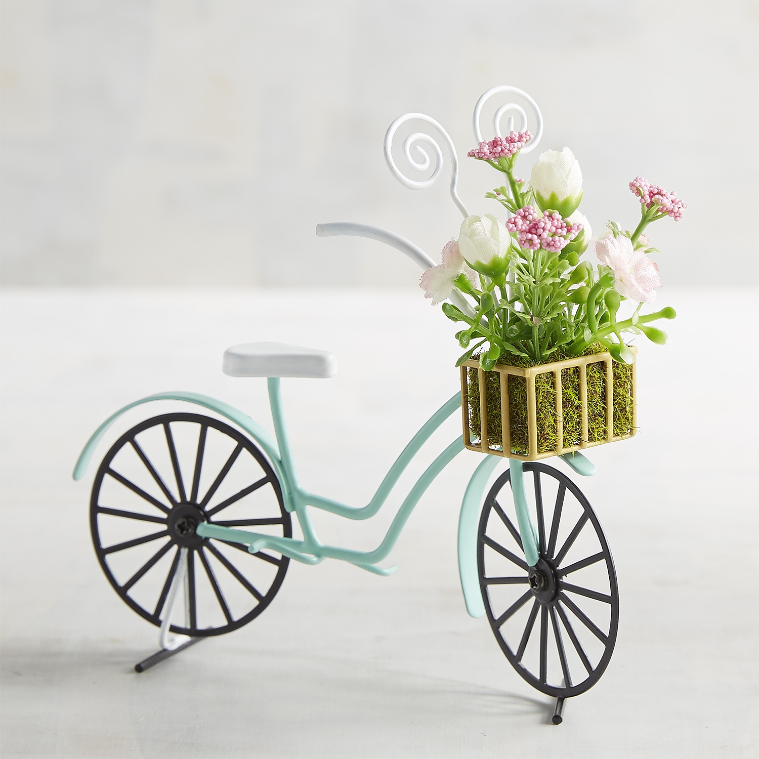 Blooming Bicycle Photo Holder