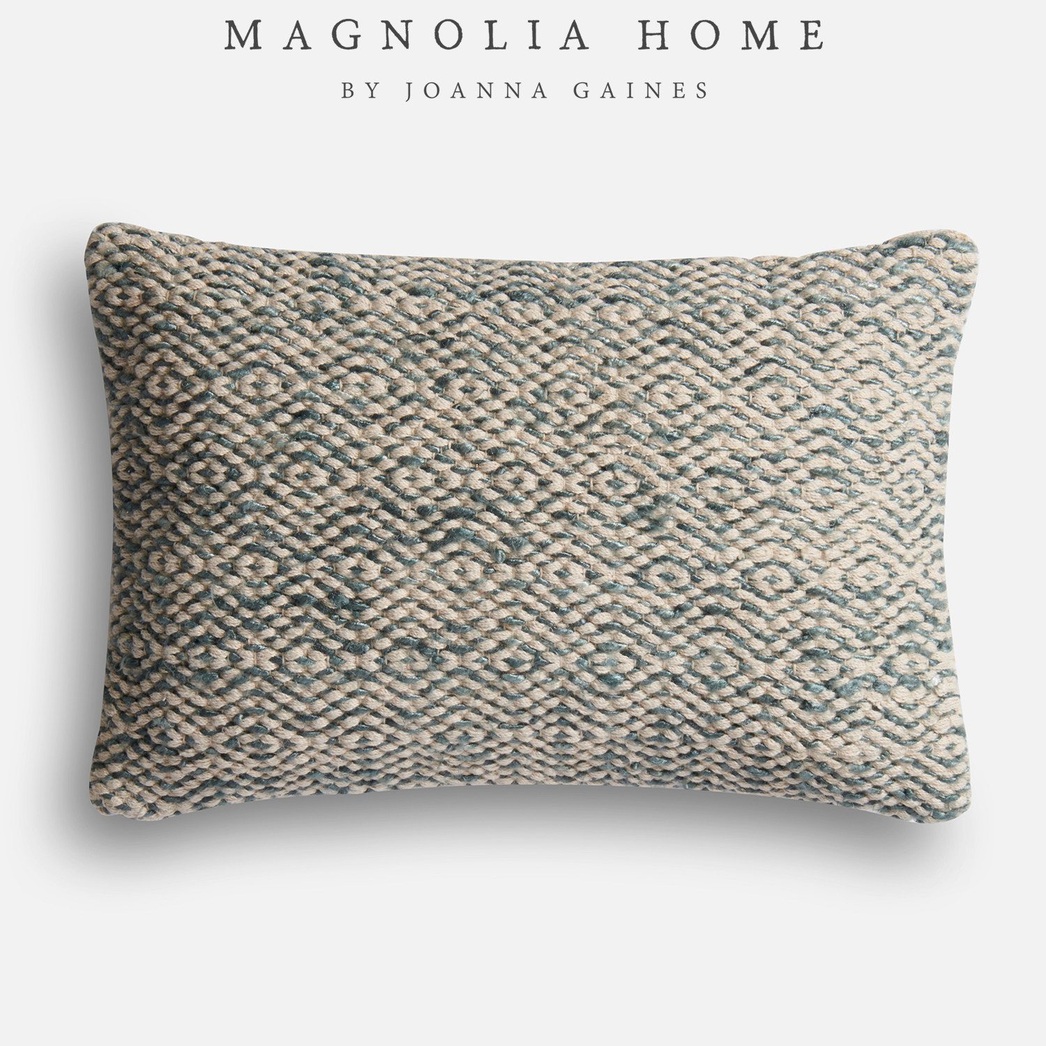 Magnolia Home Sosa Gray Lumbar Pillow