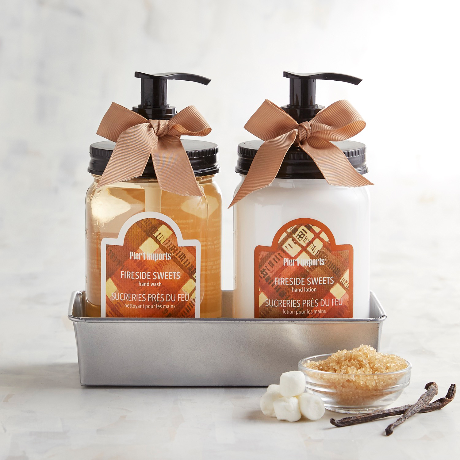 Fireside Sweets Soap & Lotion Caddy