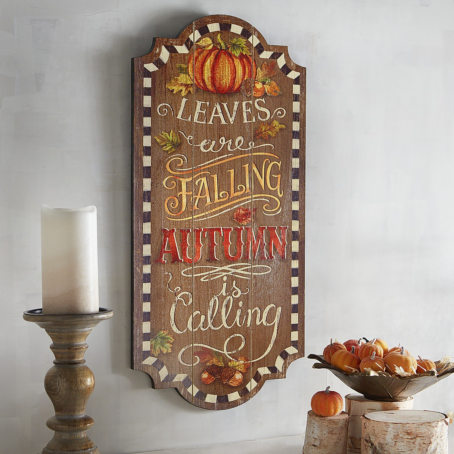 Leaves Are Falling Wall Decor