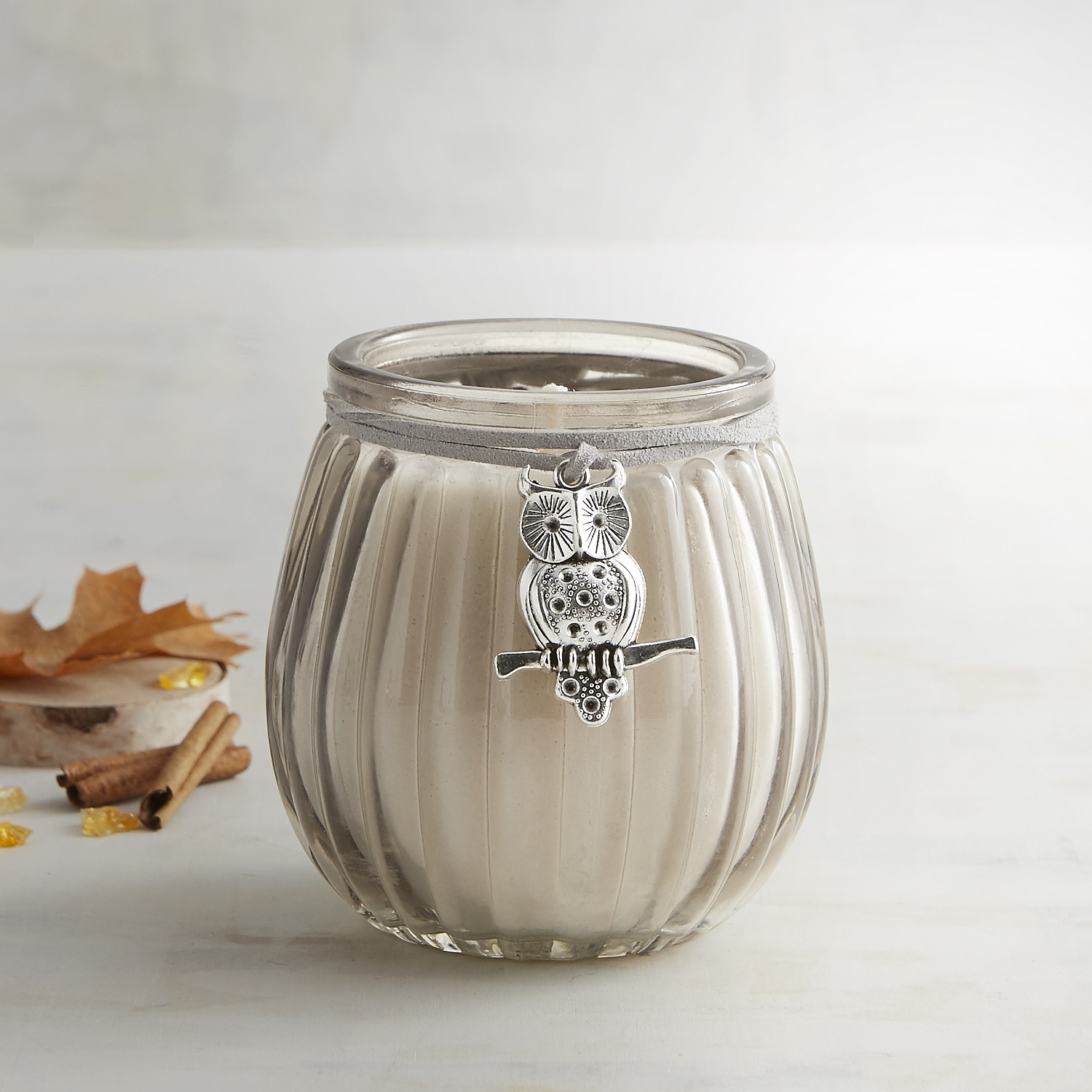 Rustic Woodlands Decorative Filled Candle
