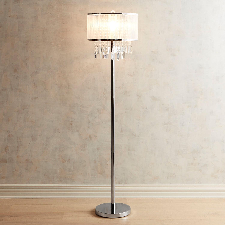 Erin Crystal Floor Lamp