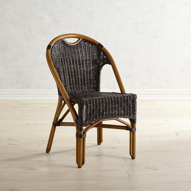 Safari Natural & Black Chair