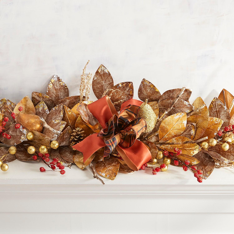 Elegant Harvest Luxury 6' Garland